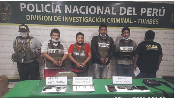 La Policía precisa que esta banda operaba en la frontera, marcando y asaltando a sus víctimas.