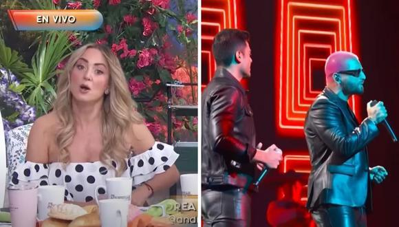 Andrea Legarreta no aceptó que critiquen a Maluma por supuestamente cantar mal una ranchera en Premios Lo Nuestro. (Foto: Captura YouTube).