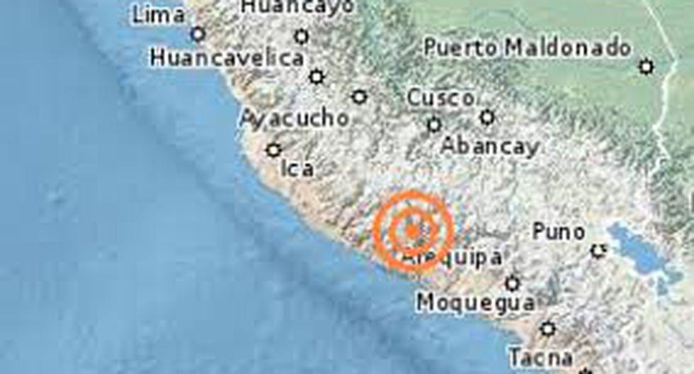 Arequipa: Sismo de 4 grados se registró en distrito de Atico