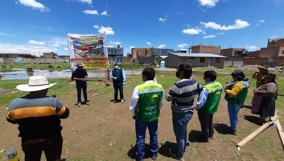 Participaron los integrantes del Comité Impulsor de la Compañía de Bomberos.