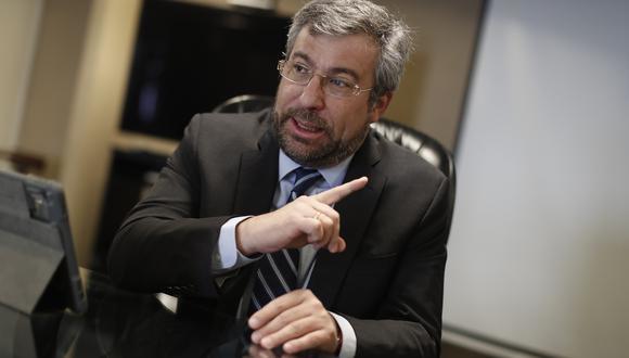 Piero Corvetto señaló que los primeros resultados oficiales se conocerán este domingo a las 11:30 p.m. (Foto: Archivo GEC)