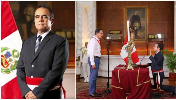 Conoce a Gastón Rodríguez Limo, el nuevo titular del Ministro del Interior. (Fotos: Presidencia)