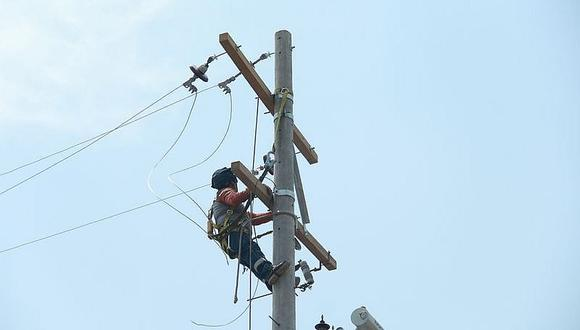 Corte del servicio de energía por 5 horas en varios distritos