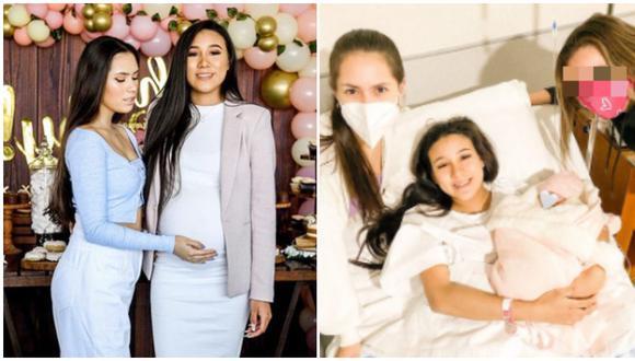 Hermanas de Samahara Lobatón la felicitan por el nacimiento de su bebé (Foto: Instagram)