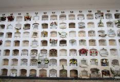 Demanda de nichos se triplican en los cementerios de la región Junín