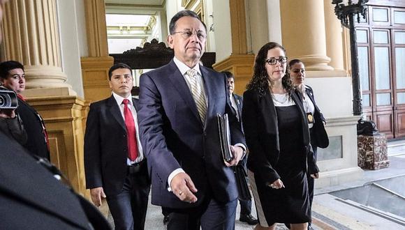 Excontralor Alarcón ratifica presunta presión de Fernando Zavala, Alfredo Thorne y Martín Vizcarra