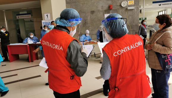 Contraloría realizó visita a la planta generadora ubicada en el nosocomio regional