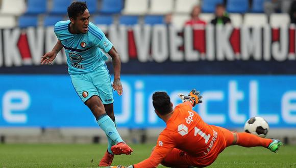Renato Tapia anotó un golazo con el Feyenoord