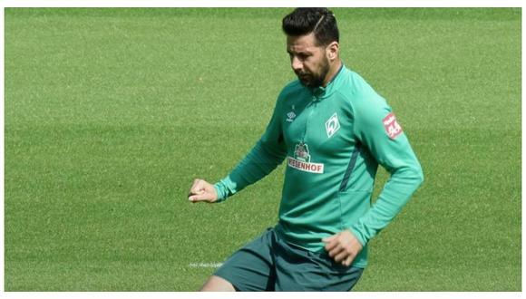 Claudio Pizarro le dio la victoria al Werder Bremen sobre Hannover 96