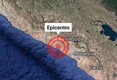 Arequipa: cuatro sismos consecutivos sacudieron la provincia de Caylloma