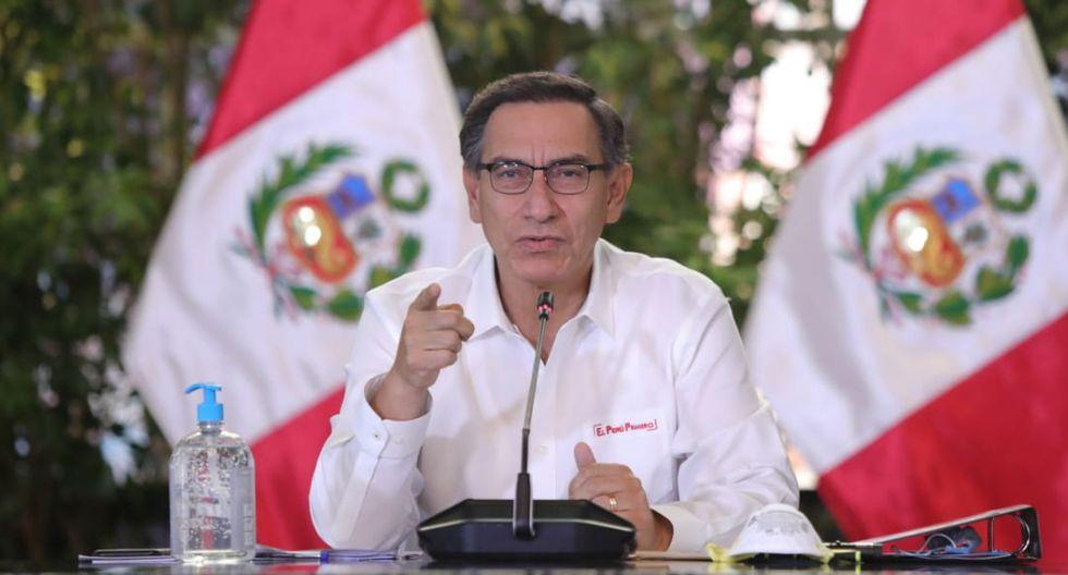 Coronavirus Perú | Martín Vizcarra ofrece pronunciamiento en el ...