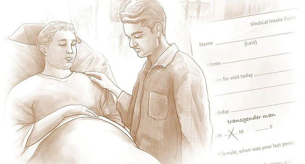 Hombre acude a hospital por dolor de estómago y en realidad estaba gestando