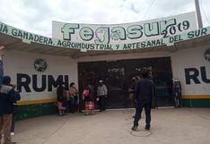 Feria de Todos los Santos se realiza en Campo Ferial de Juliaca