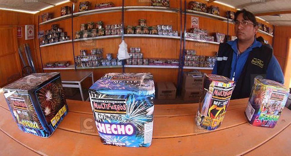 Conoce los diez puestos autorizados para venta de pirotécnicos en Arequipa