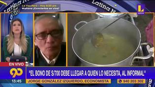 """González Izquierdo: """"no es el momento apropiado para subir impuestos"""" (VIDEO)"""