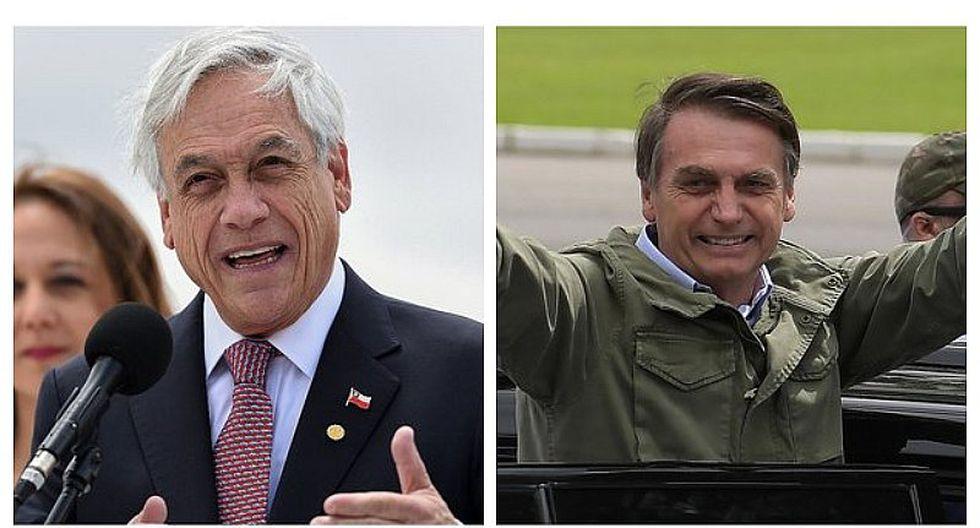 Sebastián Piñera considera que a Bolsonaro se le debe juzgar por su futuro