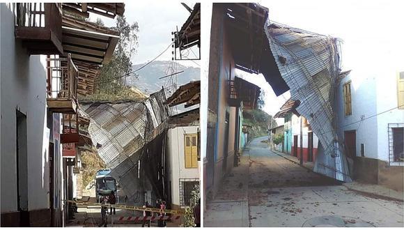 Fuertes vientos afectan techos de casas en Usquil