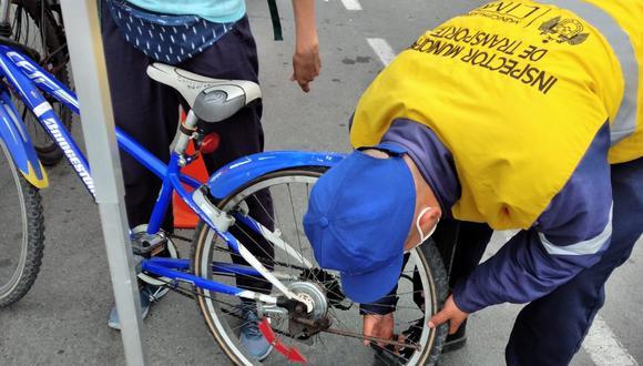 En cumplimiento de la iniciativa Domingo sin Autos, el personal municipal se instalará de 6:30 a.m. a 12 m., y estará ubicada a la altura de la bajada Marbella, para apoyar a los ciclistas. (Foto: Municipalidad de Lima)