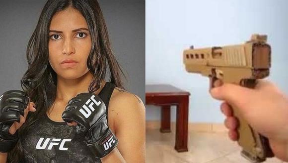 Ladrón quiso robar celular a una luchadora de UFC con arma de cartón y casi termina en el hospital