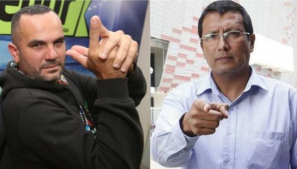 Coki Gonzáles envía carta notarial al 'Tigrillo' Navarro por declaraciones.   Foto: Composición.
