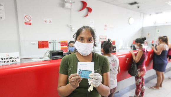Con el fin de brindar apoyo a las regiones que frenarán sus actividades económicas, se dispuso la entrega de un nuevo subsidio de 600 soles (Foto: Andina)
