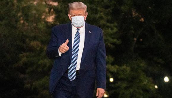 """Donald Trump podría reanudar sus """"compromisos públicos"""" a partir del sábado. (Foto:  EFE/EPA/KEN CEDENO / POOL)"""