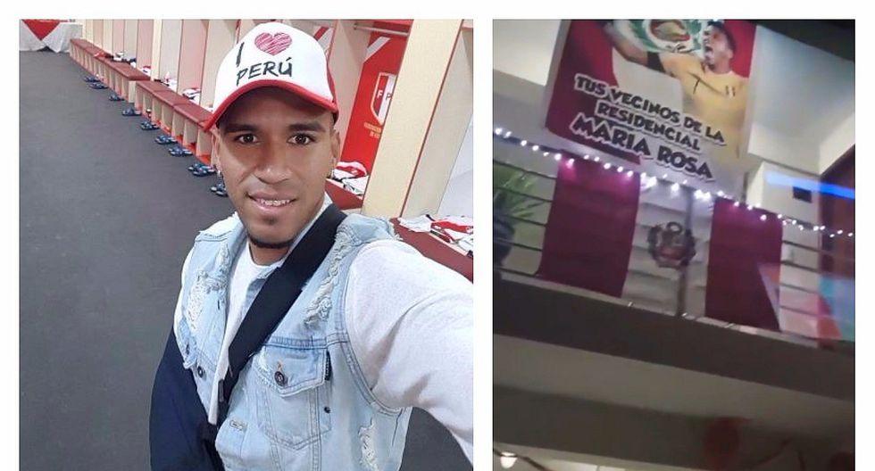 Pedro Gallese: la emotiva bienvenida que le prepararon sus vecinos tras empate con Colombia (VIDEO)