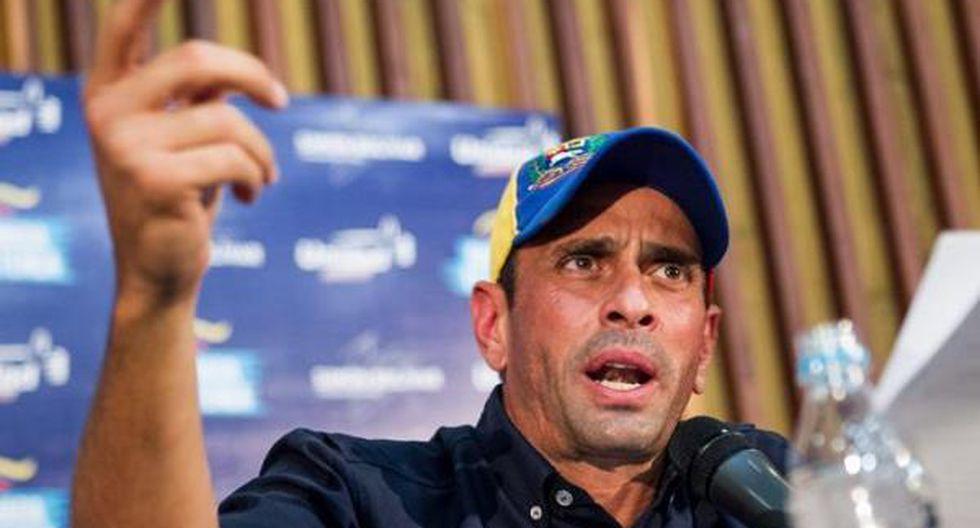Venezuela: Capriles visita a Leopoldo López