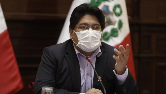 Rennan Espinoza adelantó que no apoyará la moción de vacancia.