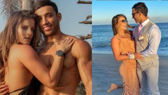 Alejandra Baigorria y Said Palao empezaron a salir en julio del 2020