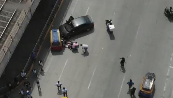 Asaltantes fueron capturados con ayuda de drones.