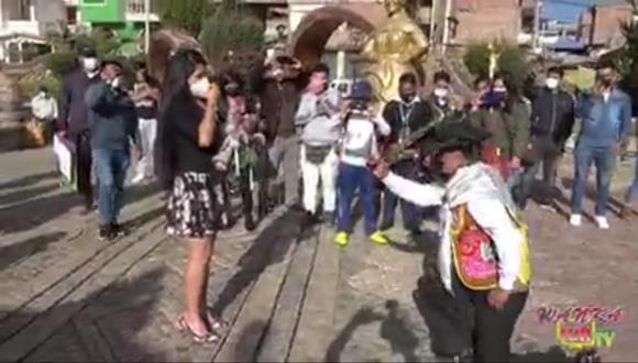 Una pedida de mano muy propia de Huancayo