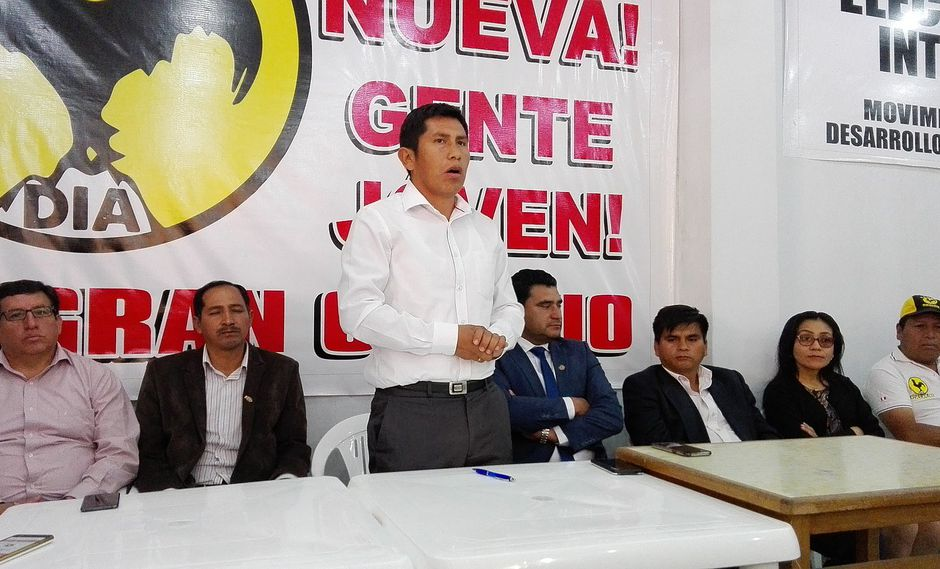 Movimiento DIA descarta alianzas con candidatos a segunda vuelta