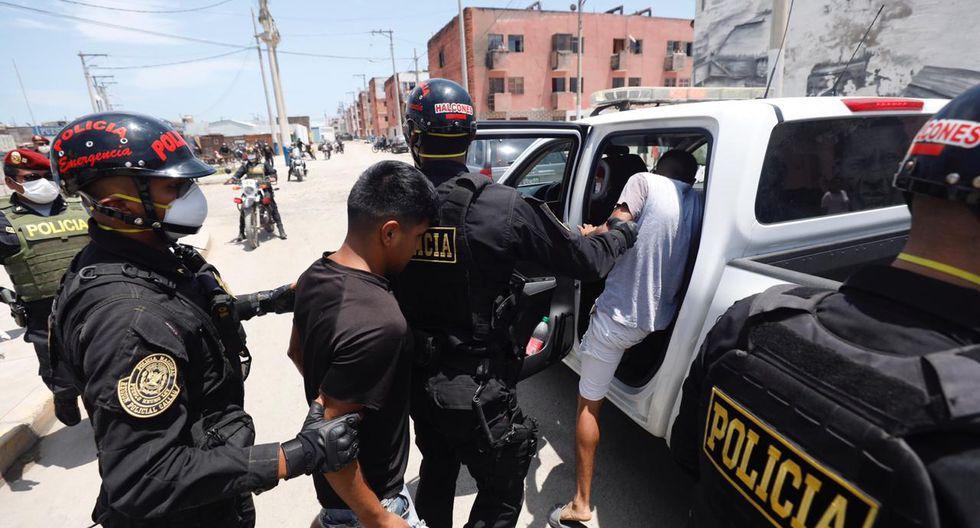 Carlos Morán instó a la ciudadanía a que respeten a las autoridades policiales, debido a que algunas personas se resisten cuando son detenidos y faltan el respeto a los agentes. (Foto PNP)