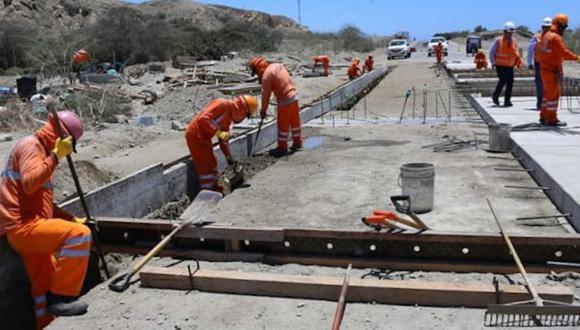 Tumbes: MTC reanuda la construcción de cuatro puentes en el marco de la reactivación económica tras el impacto de la pandemia del COVID-19 (Foto MTC)