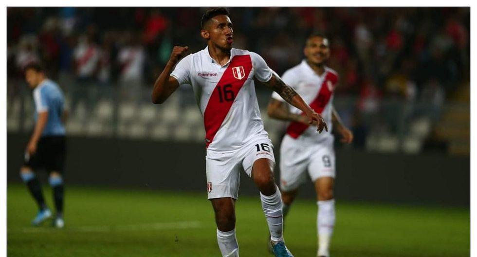 """Christofer Gonzáles: """"Anotar con la camiseta de la selección es una sensación distinta"""""""