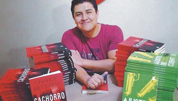El escritor trujillano acaba de lanzar su cuarto libro: Cachorro, una novela de ficción donde nos sumerge al mundo de sicarios como 'Gringasho'