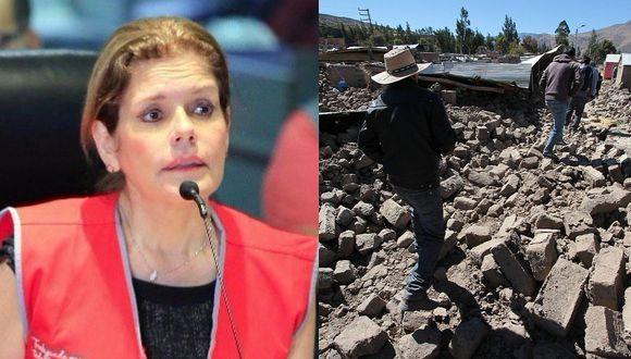 "Mercedes Aráoz sobre alerta de sismo en Arequipa: ""Fue menos de 9 minutos que todo estaba informado"""
