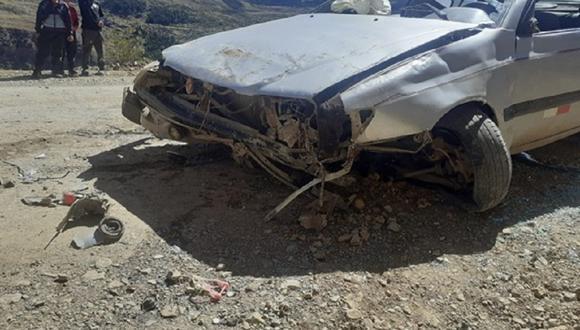 Accidente de tránsito deja malheridos tanto a una madre como a su hijo.