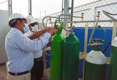 Áncash: Entregan planta de oxígeno capaz de producir 192 balones diarios en hospital de Chimbote