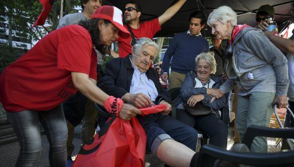 Expresidente José Mujica se retira de la actividad política. (Foto: Eitan ABRAMOVICH / AFP)