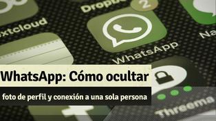 Whatsapp: Aprende cómo oculta tu foto de perfil y conexión a una sola persona