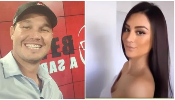 El programa de Magaly Medina reveló que la pareja de George Forsyth se llama Sonia La Torre y es una joven cajamarquina de 28 años. (Fotos: Instagram / ATV)