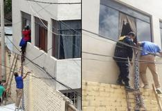 Mujer de 85 años trató de salir por ventana porque estaba encerrada y tenía hambre en Huánuco
