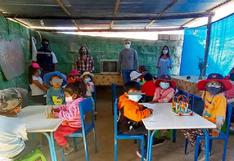 Piden sillas y toldos para que 2,800 niños puedan estudiar en Arequipa