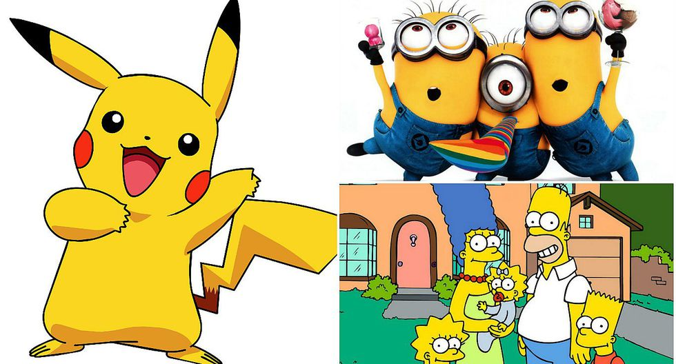 ¿Por qué existen dibujos animados de color amarillo?