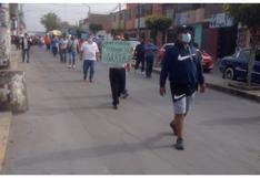 Trabajadores de la municipalidad de El Porvenir acatan paro y exigen que cumplan con los pactos colectivos