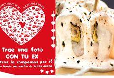 San Valentín: locales donde te dan comida gratis si llevas fotos o regalos de tu ex