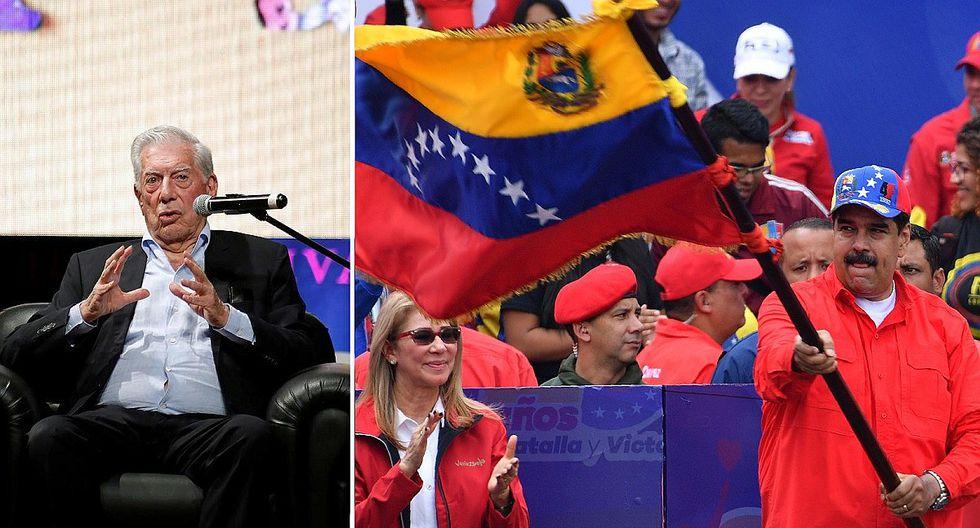 """Mario Vargas Llosa pide """"multiplicar"""" la presión contra Nicolás Maduro para precipitar su caída"""