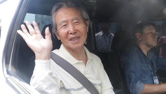 Evaluación médica a Alberto Fujimori queda suspendida